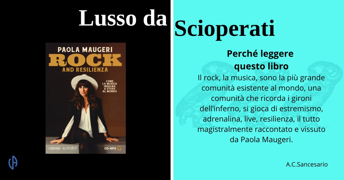 Paola Maugeri - Rock and resilienza