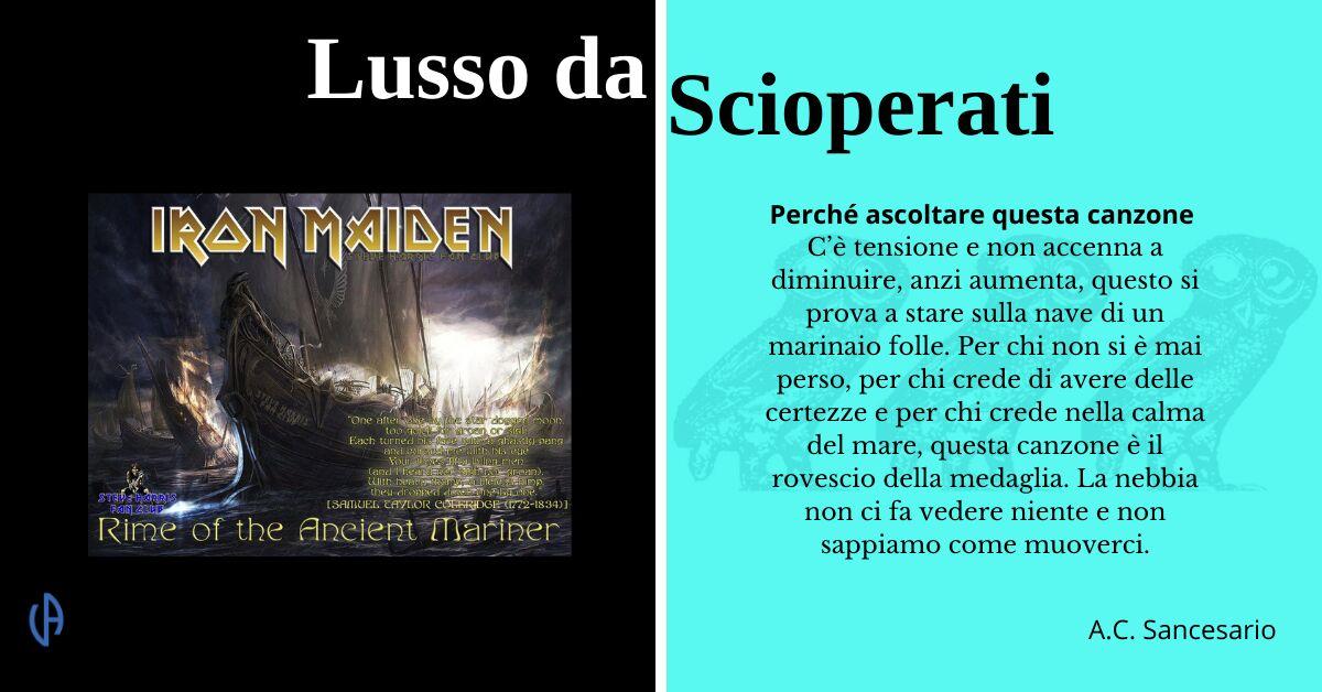 LdS - Rime ot the Ancient Mariner, Iron Maiden